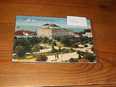 Old  postcard our ref #58200 MADEIRA FUNCHAL THEATRO 1929