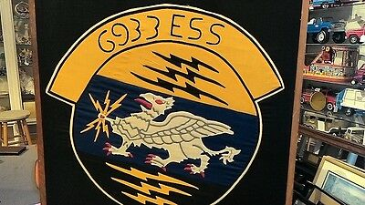 """US Air Force """"ESS"""" Service Emblem from the 50's"""