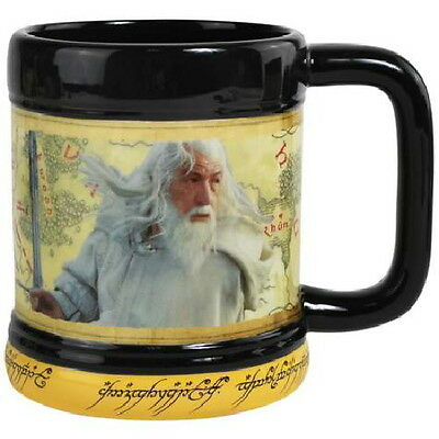 The Lord of the Rings Gandalf Photo Image 15 Ounce Ceramic Coffee Mug NEW UNUSED