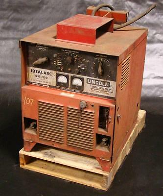 Lincoln Idealarc Mig Welder 3 Phase R3S-250 DC Power Source