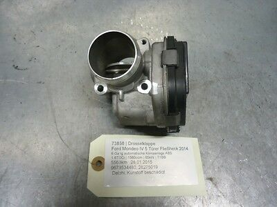 Drosselklappe Ford Mondeo IV 9673534480 1.6TDCi 85kW T1BB 73868