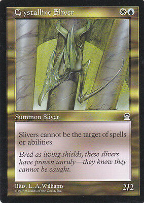 1 x  Crystalline Sliver from Stronghold (magic the gathering)