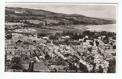 Dingwall General View Looking Towards Tullock Hill Real Photograph JB White