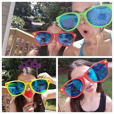 Jumbo Glasses Joke Sunglasses Fancy Dress Costume Party Fun Photo Booth Prop