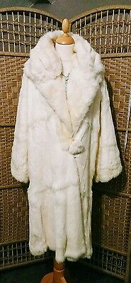 1920's 1930's Original vintage Cocoon coat flapper silk / fur reversible