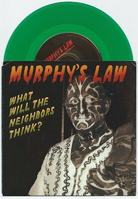 "Murphy's Law ""What Will The Neighbors Think?"" 7"" OOP Agnostic Front Madball"