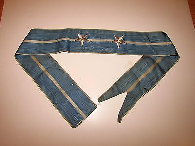 st478 US Navy Flag Streamer Korean War 2 Silver Stars