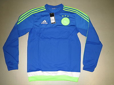 Entraînement Sweat Ajax Amsterdam 15/16 Original adidas Gr. XS 36 40 44 48 52 56