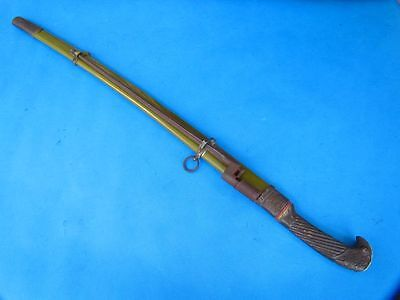Signed Stamp Russia Cossack Saber Yataghan Shashka Russian Sword Rust dot Blade