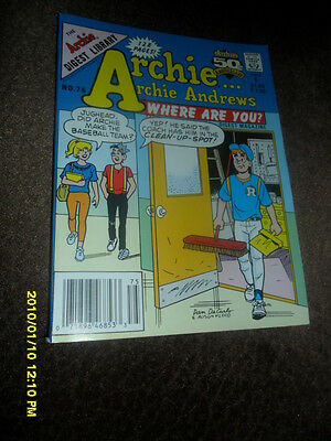 1991 Archie Archie Andrews Where Are You   Comic Book Digest Magazine #75