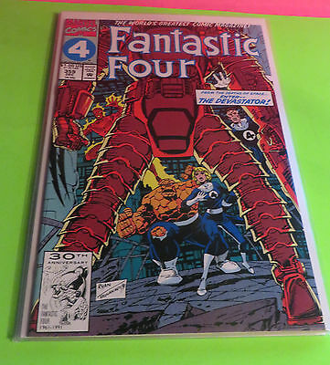 1991 Fantastic Four # 359 From The Depths Of Space -- Enter The Devastator !