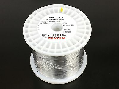 Kanthal A1 32 Gauge 4.99 lb (32,300 ft) Resistance Wire AWG A-1 ga