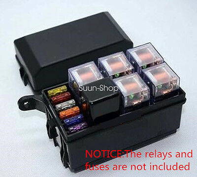 Car Auto fuse box 6 relay relay holder 5road The nacelle insurance car insurance