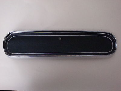 1966 Ford Mustang Glove Box Door - Standard Black -  NEW!