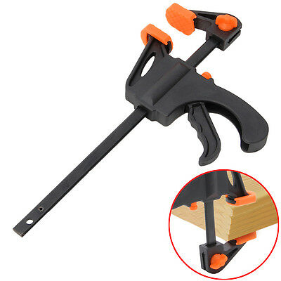4/6/8/10/12 Inch Wood Working Bar F Clamp Grip Ratchet Release Squeeze DIY Hand