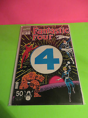 1991 Fantastic Four # 358 Triple Sized 30Th Anniversary Issue