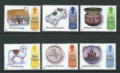 Isle Of Man 2012 The Kelly Collection Set Of 6 Unmounted Mint, Mnh