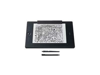 Wacom Intuos Pro Paper Edition digital graphic drawing tablet for Mac or PC, Lar