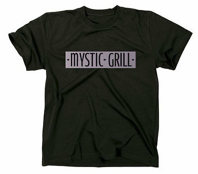 Mystic Grill The Vampire Diaries Fanshirt T-Shirt, TV Serie, Bar Fanshirt Logo
