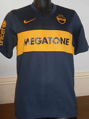 Boca Juniors Home Shirt (Argentina) ( 2007/2008) size medium men's #326