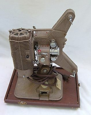 """Vintage Keystone """"sixty Six"""" 8Mm Movie Projector With Case In Working Condition"""