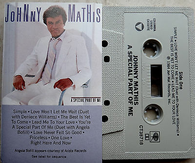 Johnny Mathis a special part of me MC Kassette