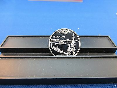 2005-S Oregon Quarter SILVER DEEP CAMEO MIRROR PROOF from 2005 Proof Set