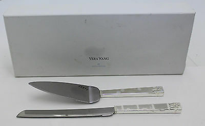 Vera Wang by Wedgwood Set of Two Love Knots Cake and Trowel Set
