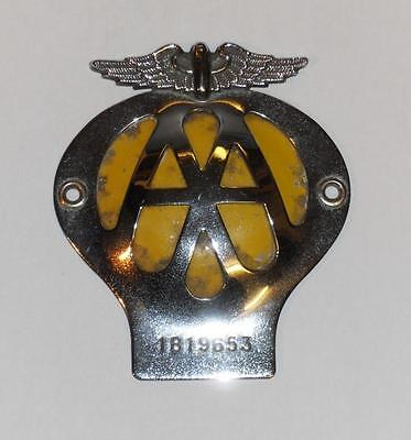 Tatty 1960 Aa Car Badge / Mascot