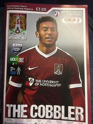 Northampton Town v Chesterfield 2016/2017