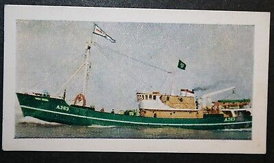 MT Mary Craig   Aberdeen Trawler     Illustrated Colour Card