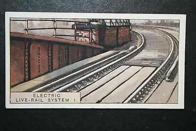 Southern Railway  Electric Live Rail System    Vintage Card #  VGC