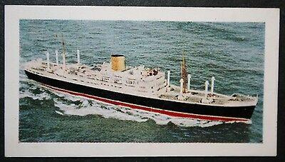 RMS Rangitane   New Zealand Shipping Co     Illustrated Colour Card