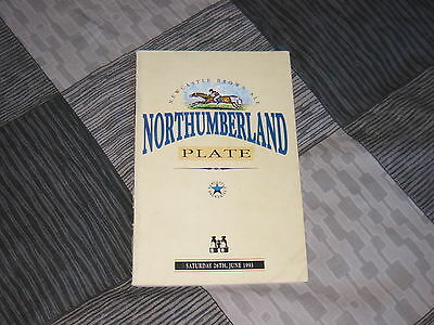 1993 Northumberland Plate, Newcastle race card 26th june 1993