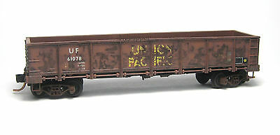 Union Pacific 40' Gondola Factory Weathered MTL #083 44 100 N-Scale Micro-Trains