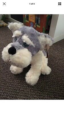 New With Tags Soft Dog Toy