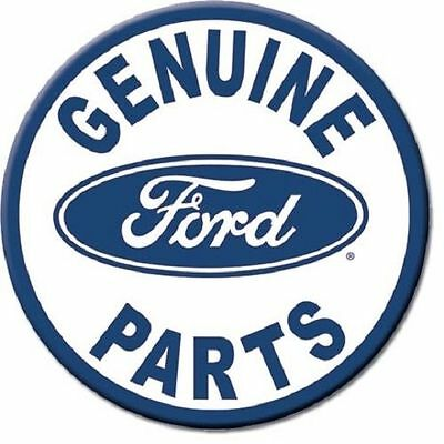 New Genuine Ford Parts  3 Inch Diameter Miniature Sign Magnet