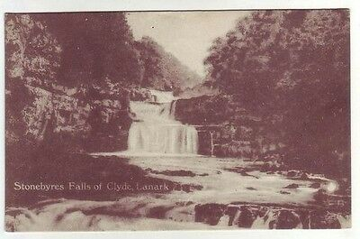 Stonebyres Falls Of Clyde Lanark A Brown Publisher & Photographers Lanark Old PC