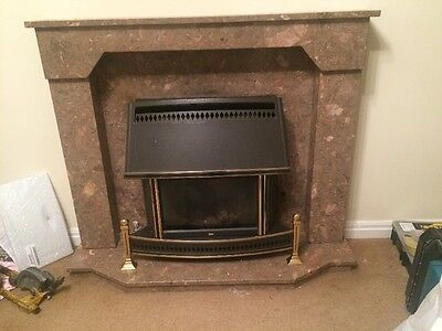 Marble Fire Surround ONLY Without Fire