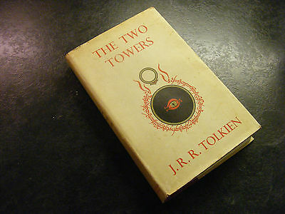 The Two Towers, 10th Impression, 1963,  J.R.R. Tolkien, George and Allen Unwin,