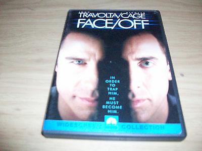 Action Movie: Face/off!! Used & In Excellent Condition!! Travolta & Cage!!!