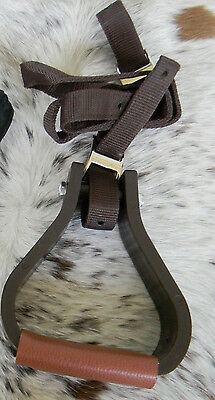 Western Stirrup Mounting Aid For Tall Horses NEW Horse Tack from Tough 1