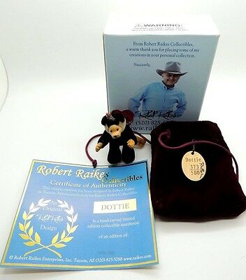 Wee Whittles Robert Raikes Original Dottie  BEAR Limited Edition 373500 box coa