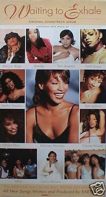 Waiting To Exhale Poster-Whitney,tlc,mary Blige,brandy