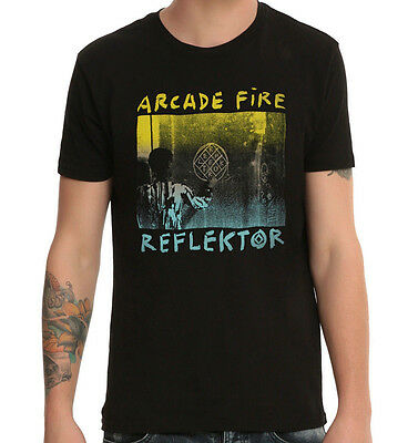 Arcade Fire - Reflektor Black T-Shirt - BRAND NEW - Size SMALL