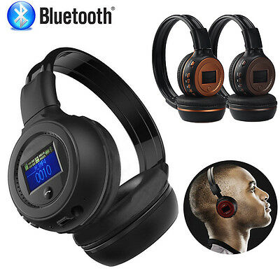 3.0 Stereo Bluetooth Wireless Headset Headphones Earphone with Call Microphone