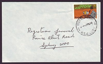 1975 10c POLLUTION ON COMMERCIAL COVER DATED 17/2/1975 (RU2561)
