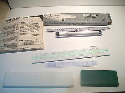 Cased Jakar Slide Rule No 29 Boxed Seikoshi Parallel Rolling Ruler Ghd-Ri