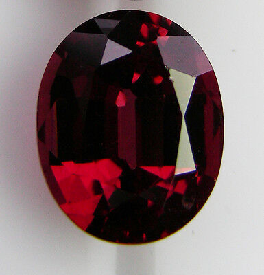 3.54ct!! NATURAL ALMANDINE GARNET EXPERTLY FACETED IN GERMANY +CERT AVAILABLE