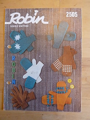 Vintage Knitting Pattern for Women's Gloves, plus 5 variations on Mittens